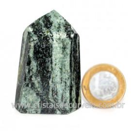 Ponta Pedra Quartzo Brasil Natural Gerador sextavado 128267