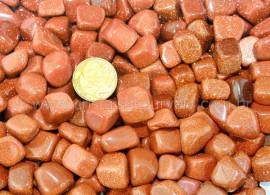 1kg Pedra do Sol Rolado GoldStone ATACADO REFF PL5143