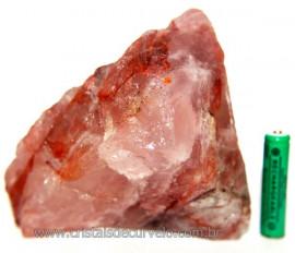 Hematóide Vermelho Natural Quartzo Cristalizado Cod 106369