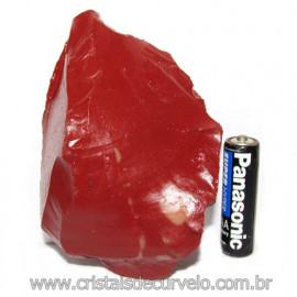 Jaspe Vermelho Pedra Natural Ideal P/ Esoterismo Cod 115552