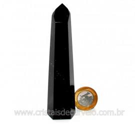 Ponta Obsidiana Flocos de Neve Mineral Vulcanico Cod PO1076