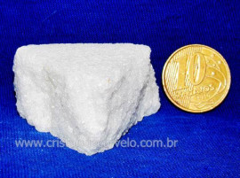 Mármore Bruto P/ Estudante de Minerais e Geologia Cod 102607
