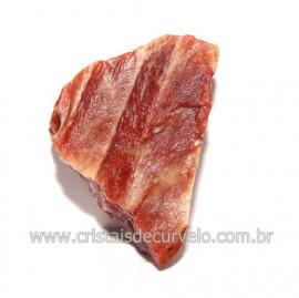 Cristal Quartzo Tangerina Pedra Bruto Natural Cod 118391