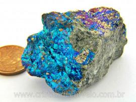 Bornita ou Pedra Pavão Mineral Para Esoterismo Cod BB7856