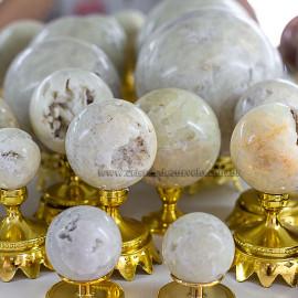 1Kg Esfera Bola Enxofre Pedra Natural Revenda ATACADO 112697