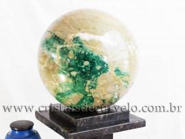 Bola Grande Jade Verde Natural 27kg Pedra Jadeita Cod 109163