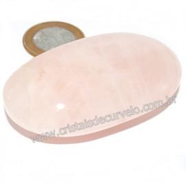 Sabonete Massageador Pedra Quartzo Rosa Natural Cod 121161