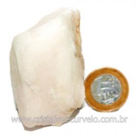 Selenita Laranja Pedra Natural Para Esoterismo Cod 123996
