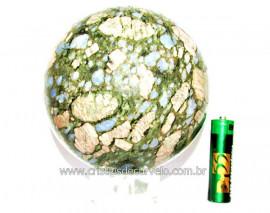 Esfera Riolita Natural Mineral Lava Vulcanica Cod ER4914