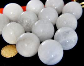 10 Mini Bola Cristal Quartzo Leitoso Esfera Pedra Natural e Pequena ATACADO