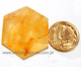 Estrela De Davi Ou Selo de Salomão Hematóide Amarelo 5 a 20 Gr Reff 110783