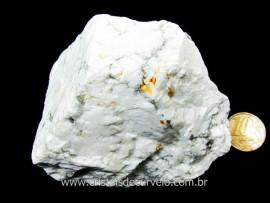Howlita Pedra Natural De Garimpo Em Bruto Para Colecionador e Esoterismo Cod 316.4