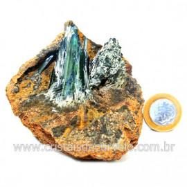 Vivianita Extra Pedra Matriz Siderita Bruta Natural Cod 127872