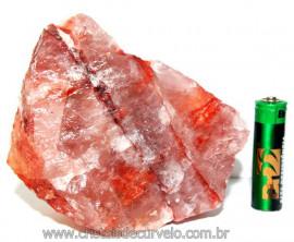 Hematoide Vermelho Natural Quartzo Cristalizado Cod HV2604