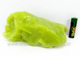 Calcedonia Verde Pedra Natural Bruto de Garimpo Para Colecionador Cod 515.0