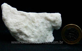 Feldspato Branco Pedra Natural De Garimpo Para Coleção Cod FB7703
