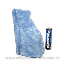 Quartzo Azul ou Aventurina Azul Bruto Natural Cod 123199