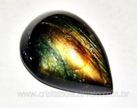 Labradorita Gema Lisa Pedra Natural Para Joias cod GL4626