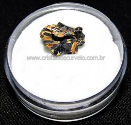 Rutilo Estrela na Matriz de Hematita No Estojo Cod 115113