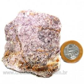 Lepidolita Mica Natural Mineral P/Colecionador Cod 124260