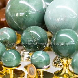 1 Kg Esfera Bola Quartzo Verde Comum Qualidade ATACADO 112688