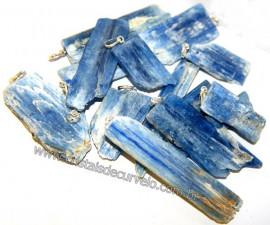 10 Canudos Cianita Azul Pingente PARA REVENDA Prata 950 Reff 107816