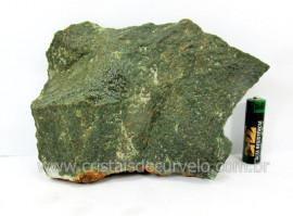 Basalto Verde Bruto Pedra Pra Colecionador ou Estudante de Minerais Geologia Cod 933.0