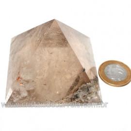 Pirâmide Fumê Pedra Baseada Nas Medidas da Quéops Cod 119016