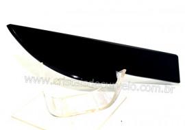 Adaga ou Athame Faca Pedra Obsidiana Negra Esoterico Cod AF8178