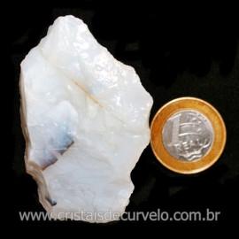 Opala Branca Pedra Genuina P/Coleçao ou Lapidaçao Cod 123816