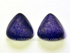 Par Trillion Pedra Estrela Azul Pra Montar Brinco Reff TB4360
