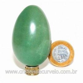 Ovo Aventurina Verde Pedra Quartzo Verde Natural Cod 127079