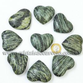 10 Coração Pedra Quartzo Brasil Natural 4.7 a 6.5cm ATACADO