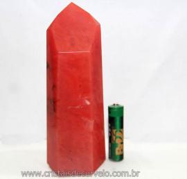 Ponta Gerador Pedra Cherry Rosa Família Obsidiana Cod 101341