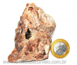 Turmalina Preta na Matriz de Feldspato Rosa Quartzo e Mica Cod 111653
