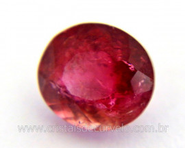 Gema Turmalina Rosa Pedra Natural Montagem Joias Cod TR6612