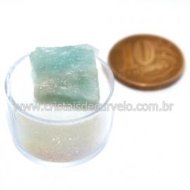 Aguas Marinhas No Estojo Berilo Natural Pedra Extra Cod 124006