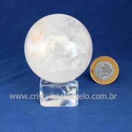 Bola Cristal Comum Qualidade Pedra Uso Esoterico Cod 121663