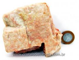Amazonita Rosa Familia Feldspato Pedra Garimpo MG Natural Para Coleção Cod 424.4