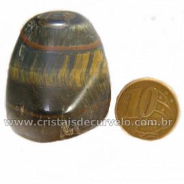 Olho de Falcão Rolado Pedra Natural Origem África Cod 127007