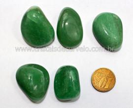 05 Quartzo Verde Rolado Pedra Natural de Garimpo Esoterismo Colecionador Reff 58.9