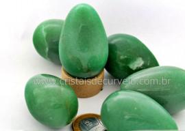 Ovo YONI Pedra Quartzo Verde Pompoarismo Sem Furo LEIA TODO ANUNCIO REFF OS6871