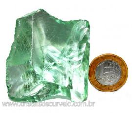 Obsidiana Verde Pedra Vulcânica Para Colecionador Cod 110328