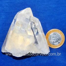 Drusa Cristal Pedra Quartzo Natural Boa Qualidade Cod 123637
