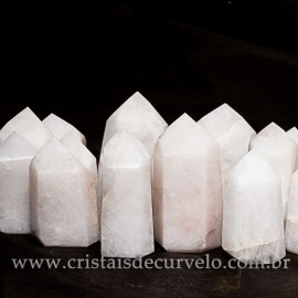 10 kg Pontas Quartzo Leitoso Gerador Lapidado Pedras de Garimpo