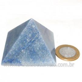 Piramide Pedra Quartzo Azul Medida Baseada Queops Cod 128417