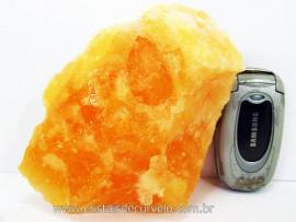 Calcita Mexicana Mineral Firme Pedra Natural Para Coleção ou Esoterismo Cod 808.2