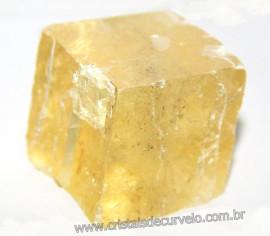 Calcita Ótica Bruto Pedra Rara Baixa Qualidade Cod 107618