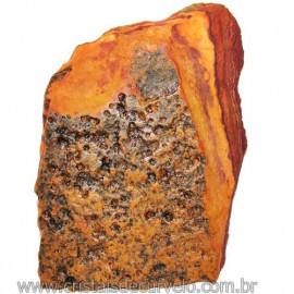 Jaspe Rajado Bruto Natural Pedra Ideal P/ Coleçao Cod 116174