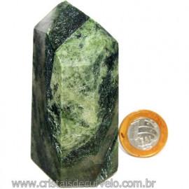 Ponta Epidoto Verde Na Matriz Ideal Para Coleção Cod 113178